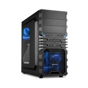 UNITÉ CENTRALE  PC Gamer, AMD A6, GT 730, 240 Go SSD, 1 To HDD, 4G