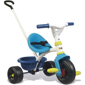 TRICYCLE SMOBY Tricycle Enfant Evolutif Be Fun Bleu