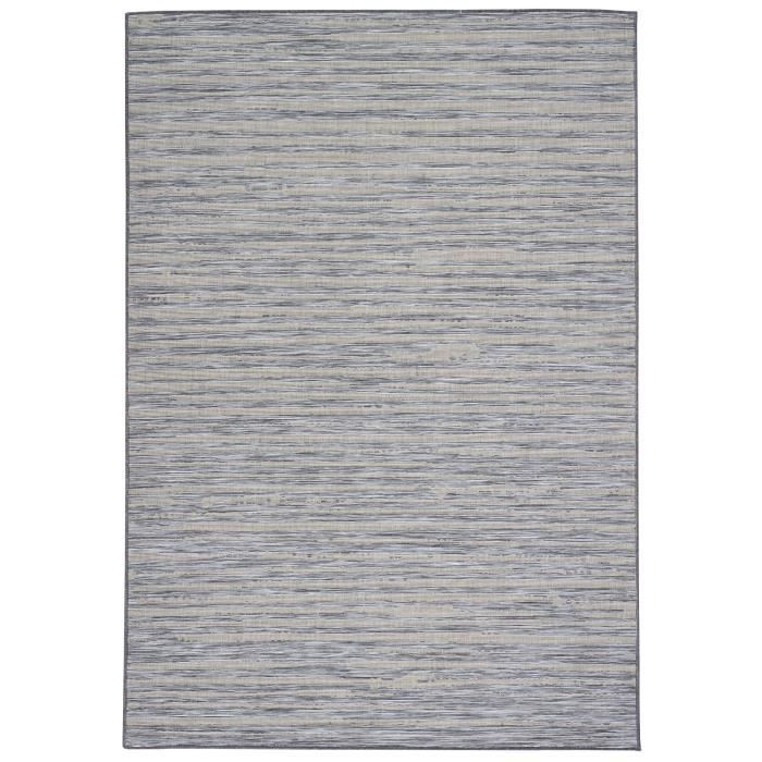 tapis de salon design style moderne 160x230 cm gris et noir achat vente tapis 100. Black Bedroom Furniture Sets. Home Design Ideas
