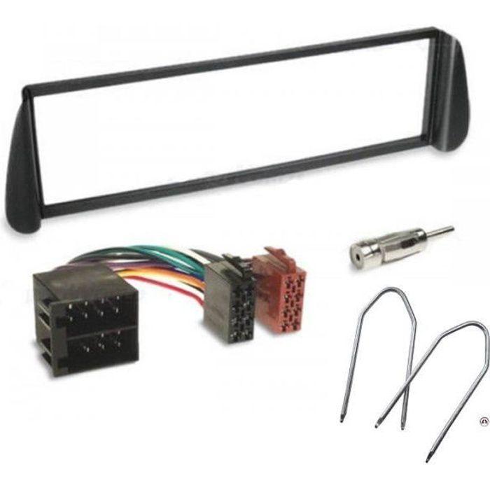 Kit Adaptateur Autoradio 1DIN noir Citroen Xsara/ Picasso ap99 + ISO + FM + Cles - KITFAC110