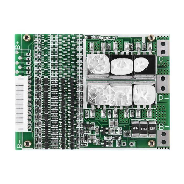 Carte PCB de panneau de protection de la batterie BMS Li-ion de 36V 35A 10S -OHL
