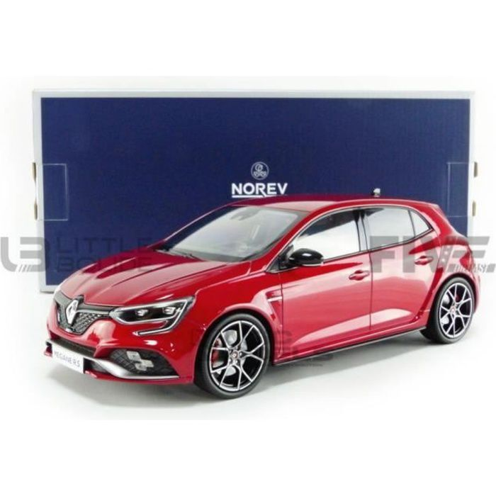 Voiture Miniature de Collection - NOREV 1/18 - RENAULT Megane IV RS Trophy - 2019 - Red - 185223