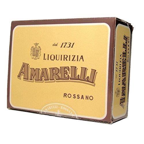 Assabesi - Réglisse Aromatisée À L'Anis - 1000 Gr - Liquirizia Amarelli - Epicerie Italienne