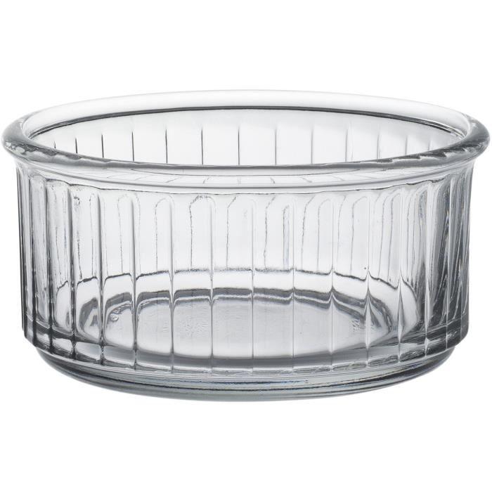 DURALEX Lot de 4 ramequins en verre OVENCHEF - 24 cl