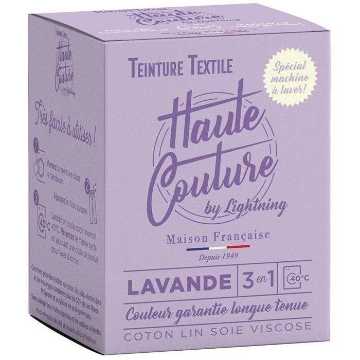 Teinture textile haute couture lavande 350g