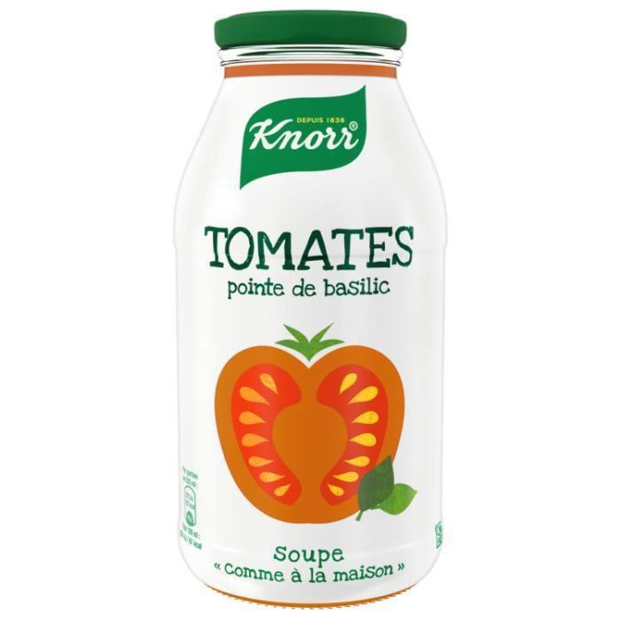 Soupe tomates pointe de basilic 45 cl Knorr