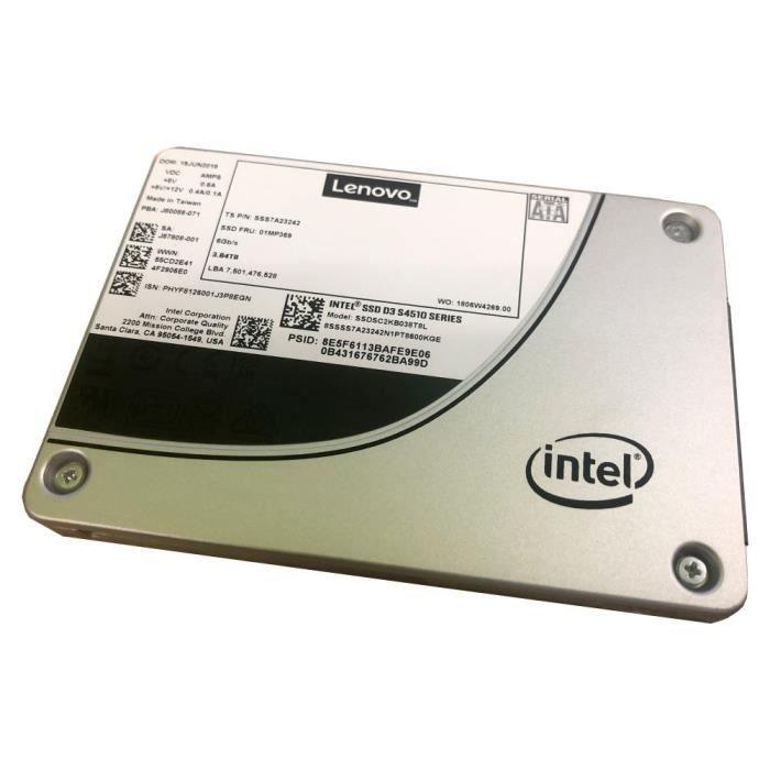LENOVO Disque SSD TS 2.5-S4510 960GB Entry SATA 6Gb HS SSD