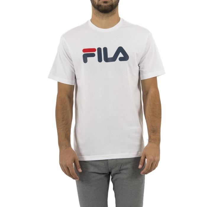 FILA T-Shirt Pure Homme Blanc
