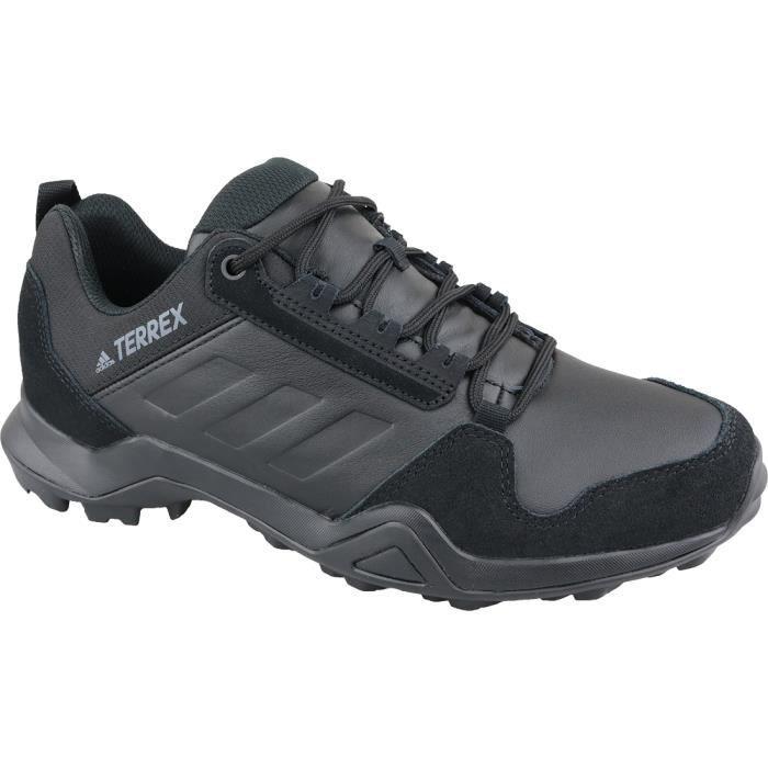 adidas Terrex AX3 LEA EE9444 chaussures de randonnée pour homme Noir
