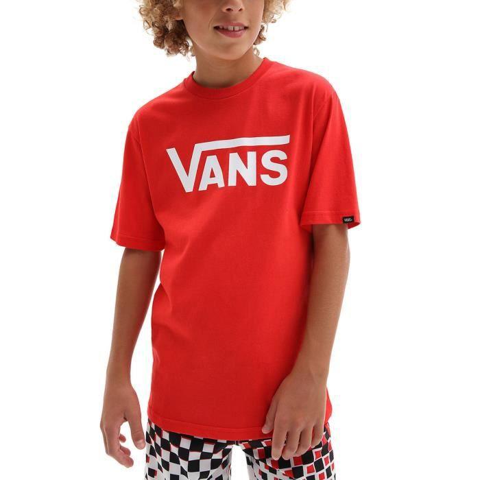 Vans T-Shirt pour Garçon Classic Rouge VN000IVFDS8