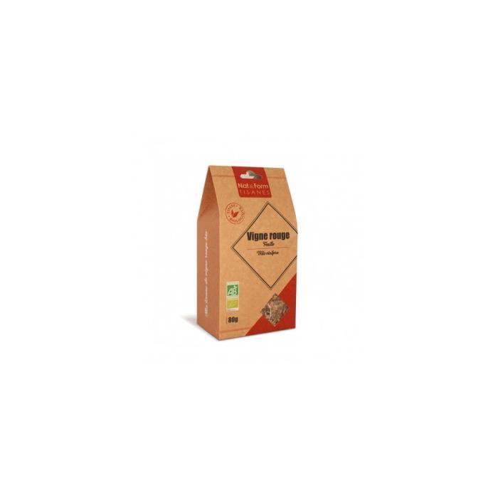 - Tisane Vigne Rouge Feuille Bio - 80 g