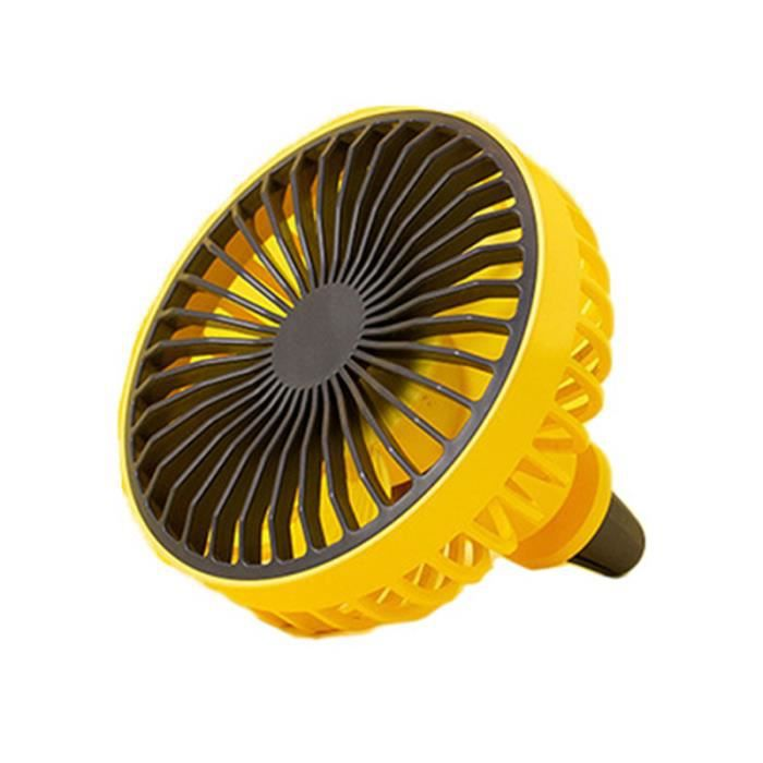 Ventilateur de sortie d'air de voiture Climatisation USB de chauffage d'appoint pour vehicule confort conducteur passager