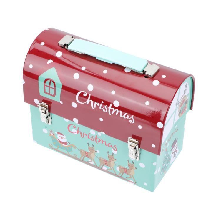 Boîte d'emballage 1pc utile boîte cadeau de de de de de créatif XMAS Candy Box bonbons cremeux confiserie chocolat