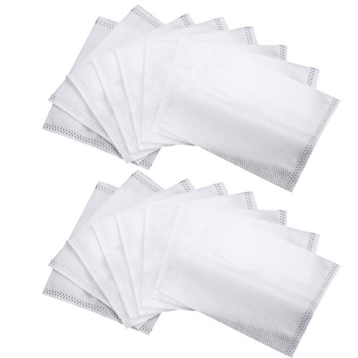 100 pièces sac de fabrication de thé d'emballage jetable accessoires de sacs de filtre à DISTRIBUTEUR DE BOISSON CHAUDE OU FROIDE