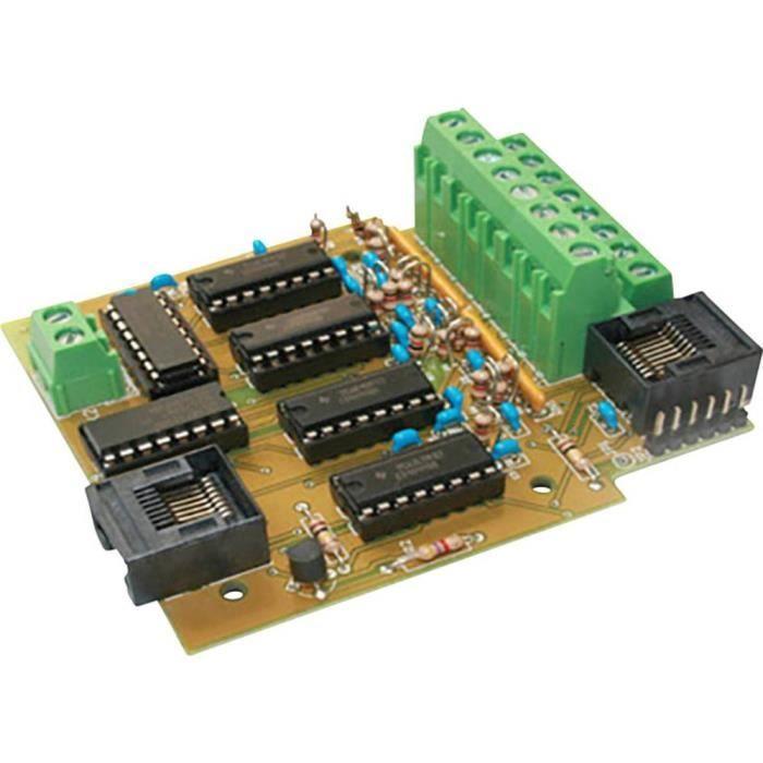 Décodeur à rétrosignal TAMS Elektronik 44-01305-01-C s88-3 en kit, sans câble, sans connecteur