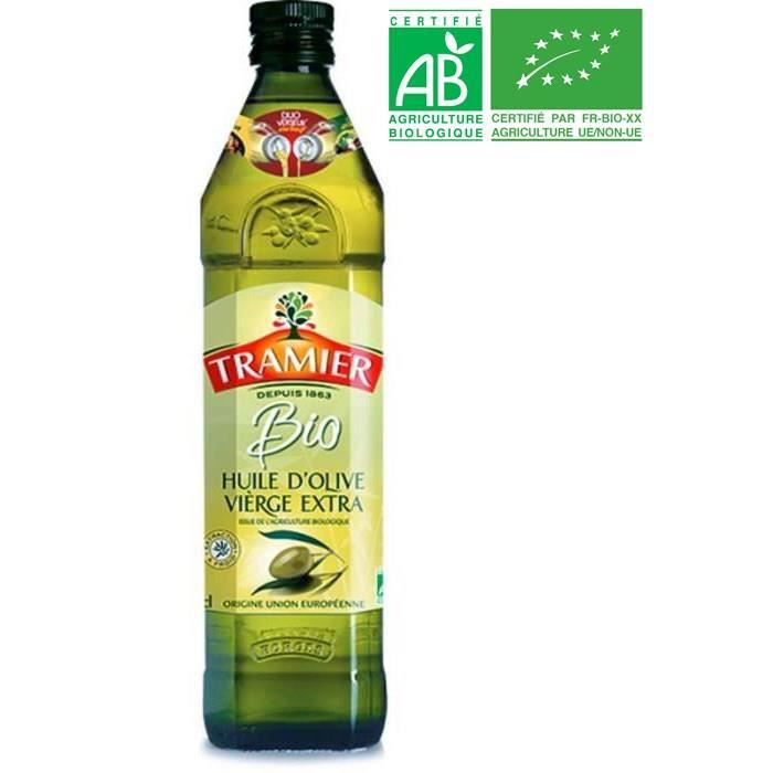 TRAMIER Huile d'Olive vierge extra Bio - 75 cl