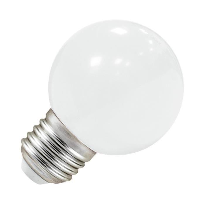 LED E27 DECO - Couleur - Blanc froid