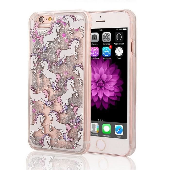 coque iphone 6 paillet