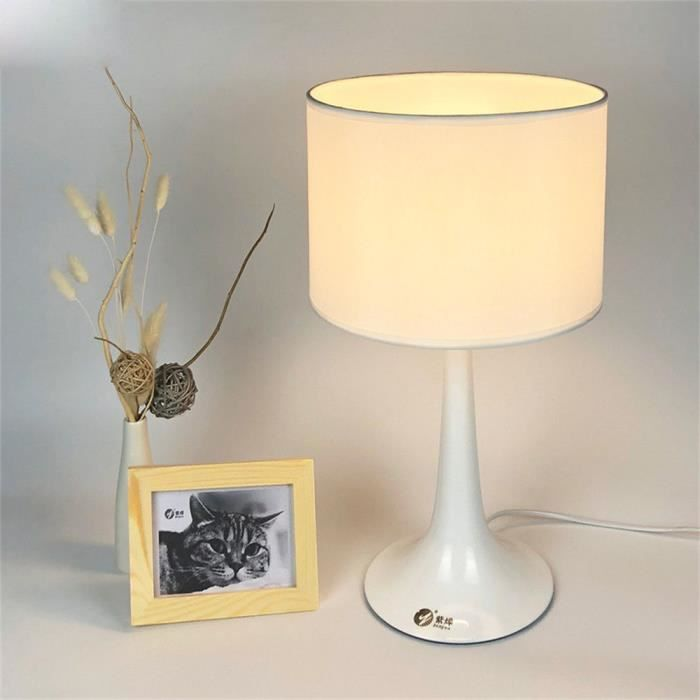 Décorative Simple Lampe Étude 10w Table Lumière Led Beige De Bureau 6 Salon Moderne 435ALRj