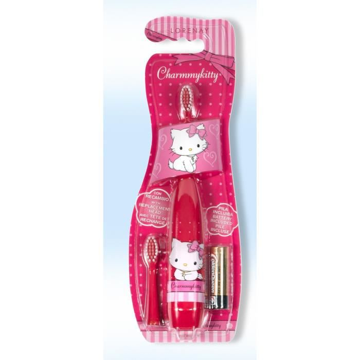 brosse dent electrique enfant hello kitty achat. Black Bedroom Furniture Sets. Home Design Ideas