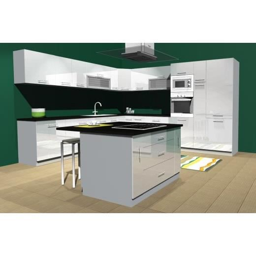 Cuisine Complete D Angle Mdf Achat Vente Cuisine Complete