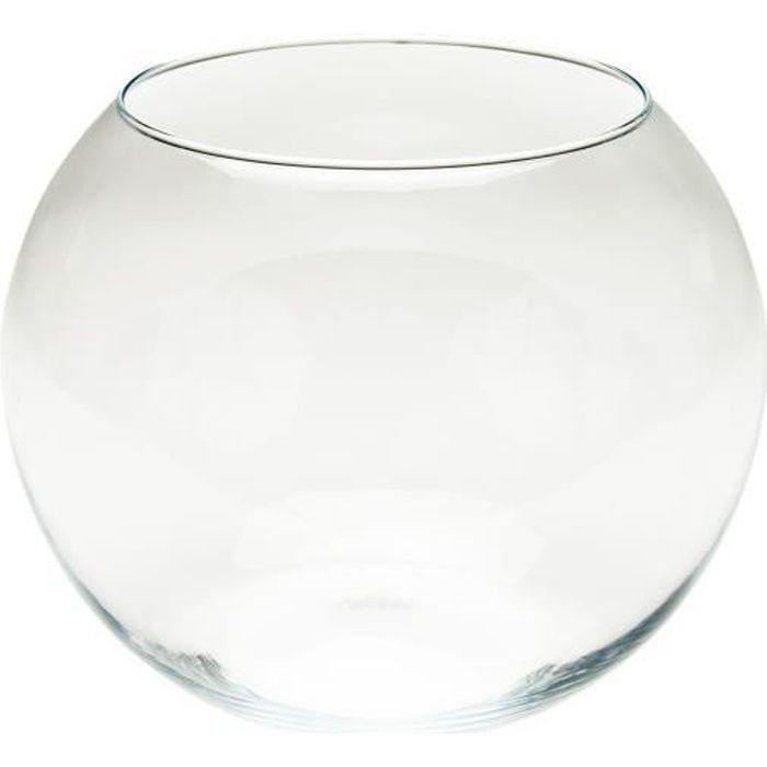 Aquaboule 230 aquarium en verre pour poisson achat for Grand aquarium rond