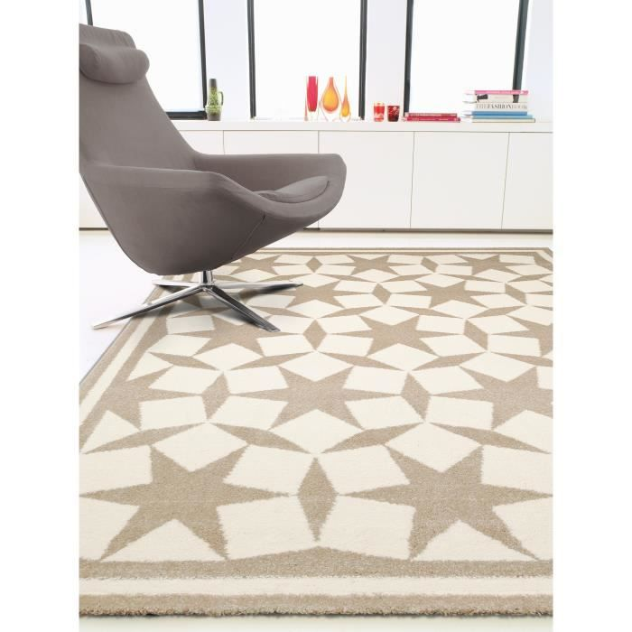 benuta tapis anis taupe 200x290 cm achat vente tapis cdiscount. Black Bedroom Furniture Sets. Home Design Ideas