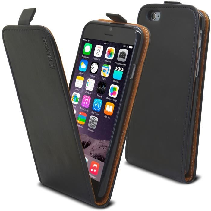 coque iphone 6 clapet cuir