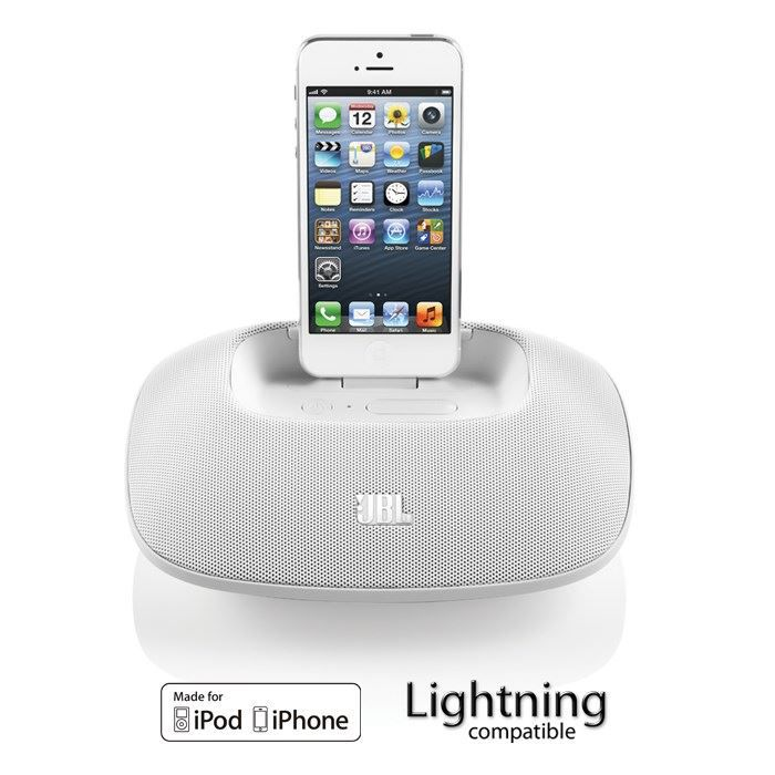 STATION D'ACCUEIL JBL OnBeat Micro Lightning- Docking iPhone 5