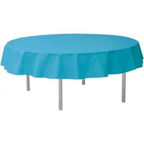 Nappe ronde unie achat vente nappe de table cdiscount - Table ronde nappe ...