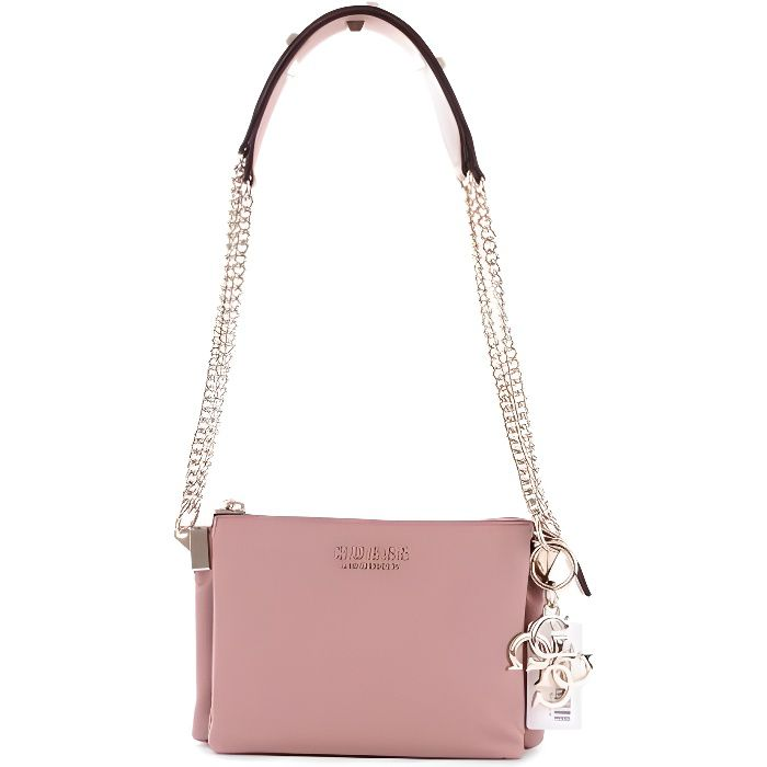 f46e8cbade Guess Sac Femme VG7097 BROOKLYN CNVRTBLE XBODY TZ Rose - Achat ...
