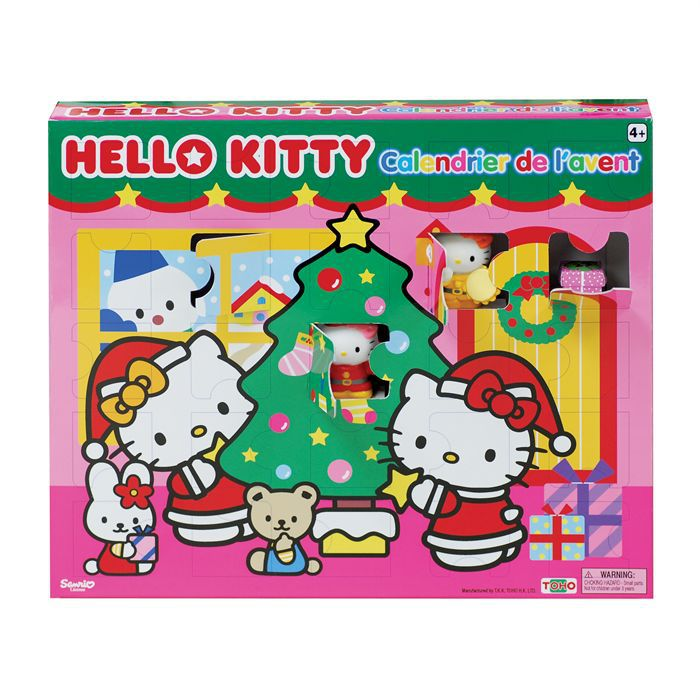 hello kitty calendrier de l 39 avent achat vente calendrier de l 39 avent hello kitty calendrier. Black Bedroom Furniture Sets. Home Design Ideas