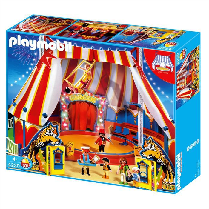 playmobil grand chapiteau cirque achat vente univers miniature cdiscount. Black Bedroom Furniture Sets. Home Design Ideas