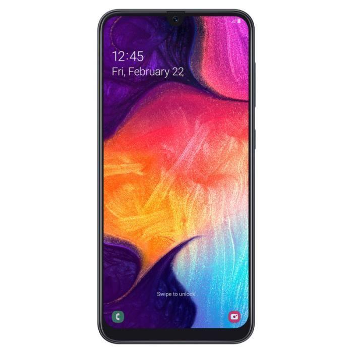 SMARTPHONE Samsung Galaxy A50 - Double Sim - 128Go, 4Go RAM -