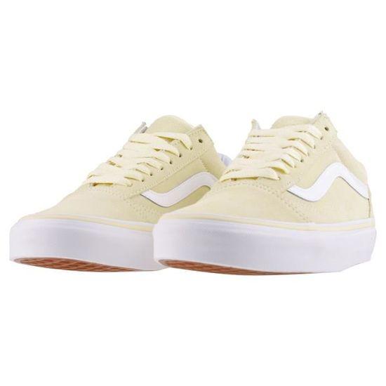 Vans Old Skool Femmes Baskets Jaune Blanc - 5 UK Jaune blanc ...