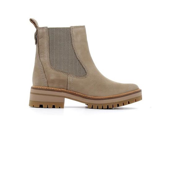 Taupe Chelsea Courmayeur Valley coloris Nubuck Bottes Timberland rCdBxoeW