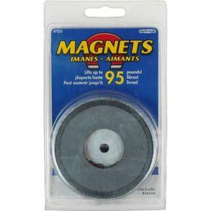 AIMANTS - MAGNETS Aimant diamètre 81 mm - pour charge jusqu'à 43 Kg