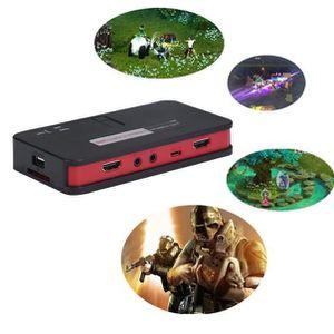 SWITCH - HUB ETHERNET  1080 Game Capture HD HDMI Capture vidéo Télécomman