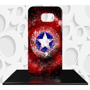 Coque Samsung Galaxy S8 Captain America bouclier taille unique