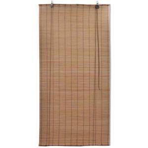 STORE DE FENÊTRE Magnifique Store enrouleur bambou brun 120 x 220 c