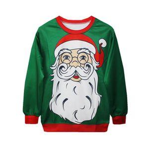 SWEATSHIRT Femme Fille Noël Tops de Loisir T-Shirts Fin Sweat