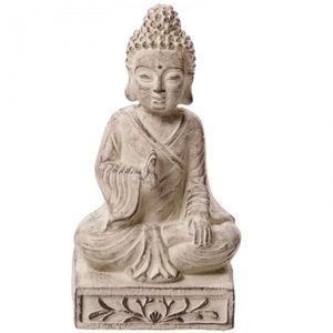 statuette bouddha jardin achat vente statuette bouddha. Black Bedroom Furniture Sets. Home Design Ideas