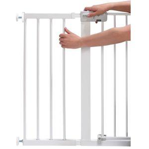 BARRIÈRE DE SÉCURITÉ  Extension de barrière de sécurité 28 cm Blanc Safe