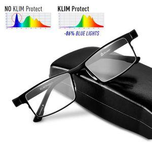 LUNETTES LUMIERE BLEUE KLIM Protect Lunette Anti Lumiere Bleue - NOUVELLE