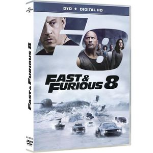 DVD FILM fast and furious 8 dvd + copie digitale 2017