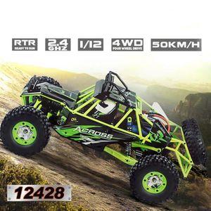 VOITURE - CAMION Wltoys 12428 1-12 2.4G 4WD moteur électrique balay