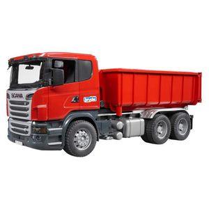 DOCTEUR - VÉTÉRINAIRE Bruder 03522 - Camion Porte-container Scania R-ser