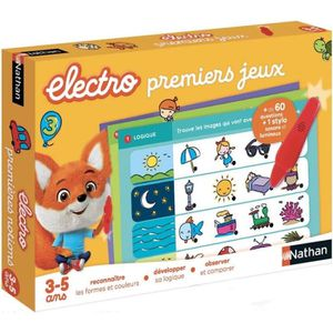 JEU D'APPRENTISSAGE jeu educatif NATHAN Electro - Premiers Jeux 31523