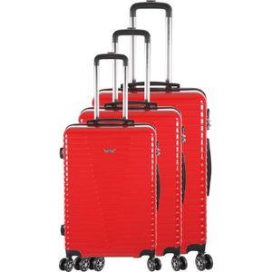 SET DE VALISES FRANCE BAG - Set de 3 valises 8 roues multidirecti