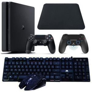 PACK CLAVIER - SOURIS Pack Sony PS4 Slim Fortnite 500 Go FR + Clavier +